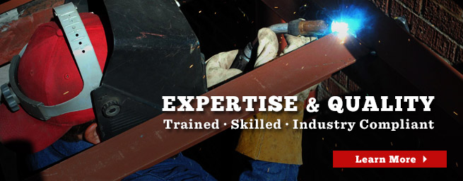 Quality Assurance and Expertise : Fabrication Services